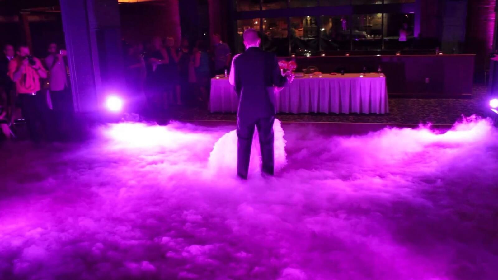 dry ice hazer wedding services toronto empire. Black Bedroom Furniture Sets. Home Design Ideas
